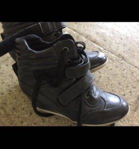 Ботинки-сникеры деми