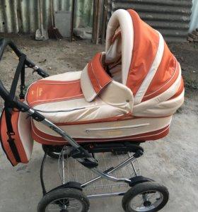 Детская коляска зима-лето.
