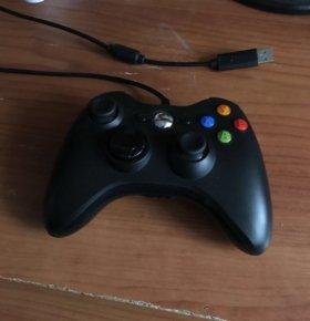 Проводной геймпад (контроллер) Xbox 360