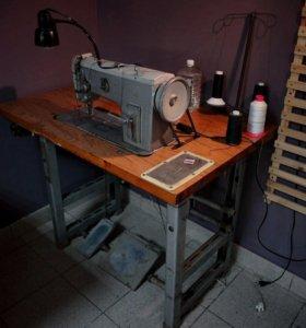 Промышленная швейная машина 1862 класс