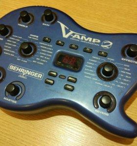 Гитарный процессор Behringer V-Amp 2