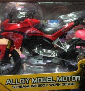 Новый Модельный мотоцикл