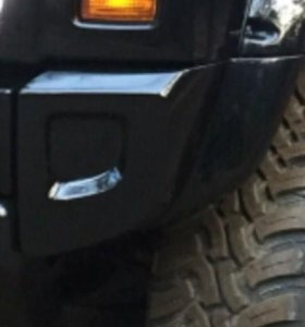 Углы бампера Hummer H2 для 8см-х расширителей