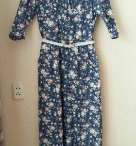 Платье джинсовое р-р 46