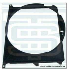 Новый диффузор вентилятора охлаждения BMW