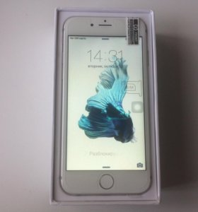 iPhone 6S 8gb silver android 5.2