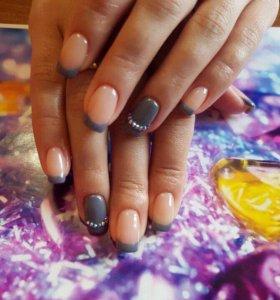 Маникюр, педикюр, покрытие ногтей гель-лаком