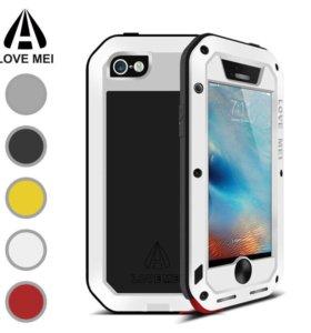 Ударопрочный чехол LOVE MEI для iPhone 5/5s/SE