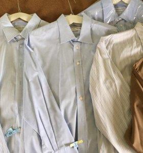 Рубашки мужские фирменные большого размера