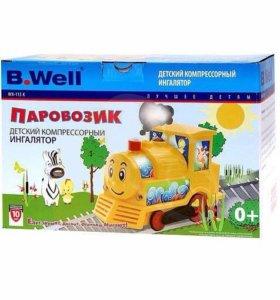 Ингалятор компрессорный паровозик b.well