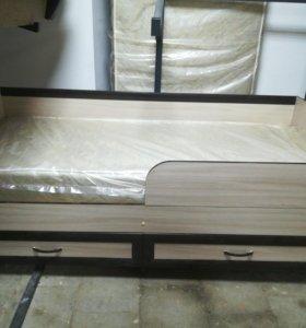 Кровать с перегородками