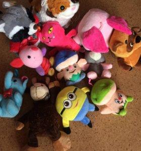 Новые мягкие игрушки