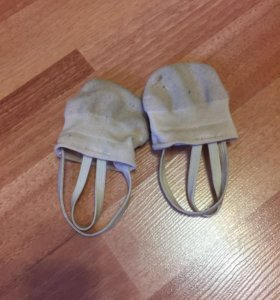 Полупальцы - носки для девочки