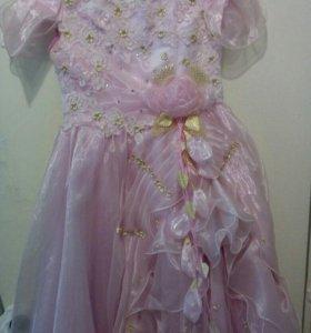 Шикарное платье для принцессы.