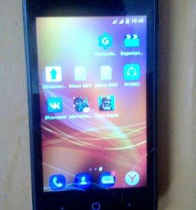 Телефон ZTE BLADE PRO 5 разбитый экран