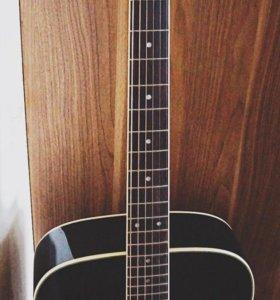 Акустическая гитара crafter MD-58 / BK + чехол