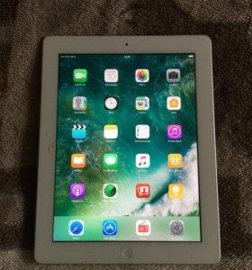 Продаю iPad 4 с дисплеем Retina, LTE, 16GB,белый