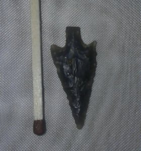 Кремниевый наконечник стрелы