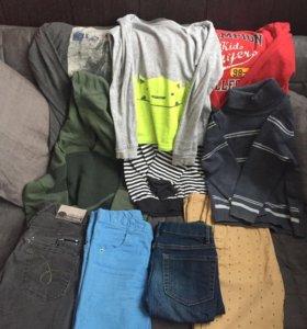 Одежда на мальчика 6-7 лет,все за 1500₽