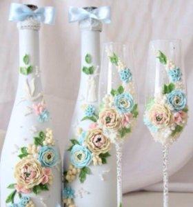 Изготовлю свадебные аксессуары (Венец и Я)