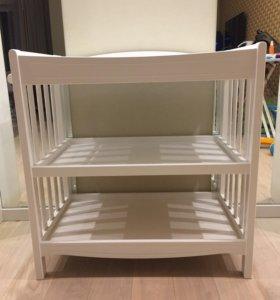 Пеленальный комод-стол
