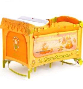 Новая кровать-манеж capella Jetem c1