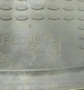 Ковёр в багажник focus2