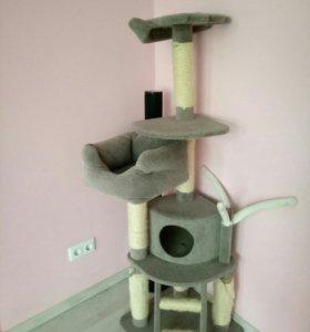 Домик- когтеточка для кошки