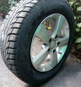 Литые колеса в сборе R15