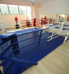 Тентовое покрытие для ринга 6х6 синее