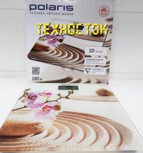 Весы напольные Polaris PWS1843DG Sand. Магазин