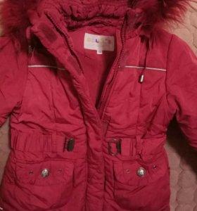 зимняя девчачья куртка