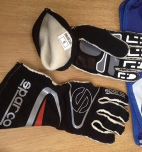 Sparco перчатки для автоспорта