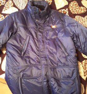 Куртка Найк зима в хорошем состоянии
