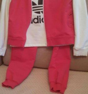 Спортивный комплект тройка(не оригинальный Adidas)