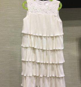 Платье на девочку р.158