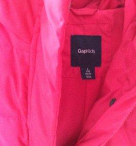 Куртка зимняя на девочку 8-9 лет