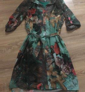 Платье-рубашка.