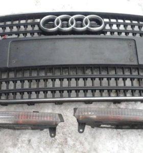 Решетка в бампер передний ауди