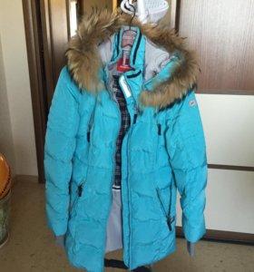 Пуховик зимний Snowimage