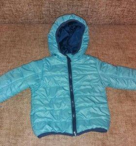 Куртка весна-осень 74 размер