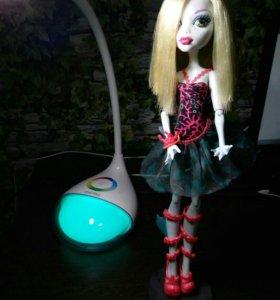 Монстер хай, monster high кукла лагуна блю