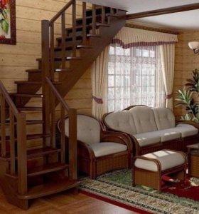 Грамотные деревянные лестницы