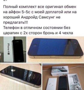 Айфон 4с Как с магазина