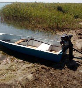 Дюралевая, разборная лодка Сибирячка-Мини