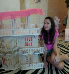 Дом для барби и игрушек