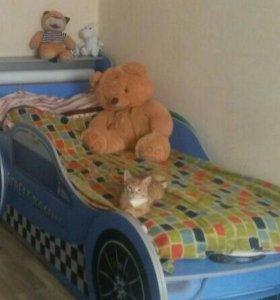 кровать-машина сканд