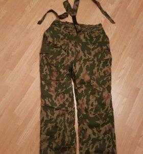 Армейские ватные штаны