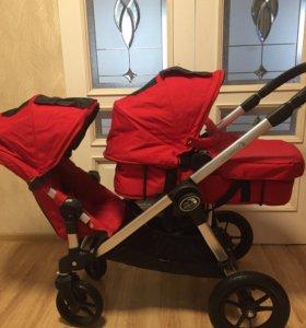 Новая коляска для погодок baby jogger city select