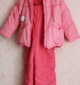 Продаю зимний костюм для девочки